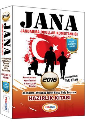 Yediiklim Yayınları 2016 JANA Konu Anlatımlı Hazırlık Kitabı