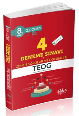 8.Sınıf TEOG 2.Dönem 4 Deneme Çıkmış Sorular Editör Yayınları