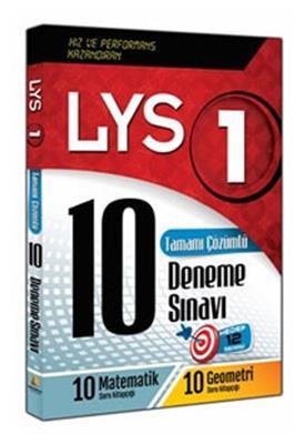 LYS-1 Matematik - Geometri Tamamı Çözümlü 10 Deneme Sınavı Kapadokya Yayınları