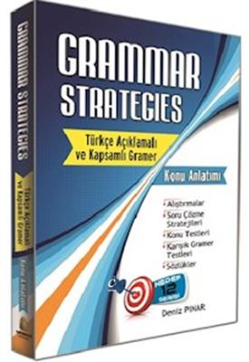 Kapadokya Yayınları Grammar Strategies Türkçe Açıklamalı Kapsamlı Gramer Konu Anlatımı
