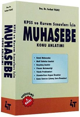 KPSS A Grubu Muhasebe Konu Anlatımlı 4T Yayınları