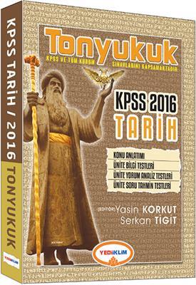 Yediiklim Yayınları 2016 KPSS TONYUKUK Tarih Konu Anlatımı