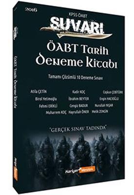 ÖABT Tarih Süvari Tamamı Çözümlü 10 Deneme Kariyer Meslek Yayınları