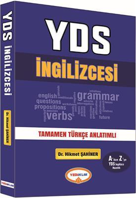 YDS İNGİLİZCESİ Tamamen Türkçe Anlatımlı Yediiklim Yayınları