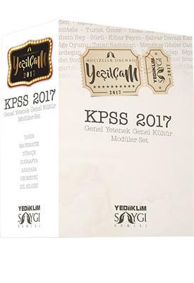 KPSS GK GY Konu Anlatımlı SAYGI Moduler Set Yediiklim Yayınları