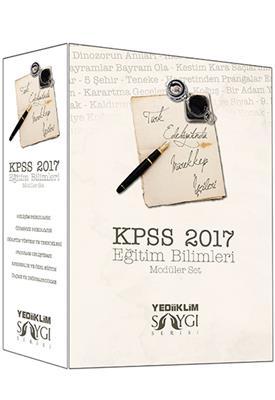 2017 KPSS Eğitim Konu Anlatımlı Modüler Set Yediiklim Yayınları