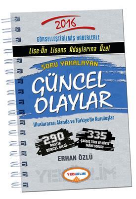 KPSS Lise Ön Lisans Soru Yakalayan Güncel Olaylar Yediiklim Yayınları