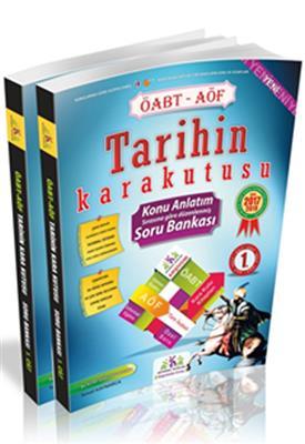 AÖF Tarihin Kara Kutusu Konu Anlatımlı Soru Bankası 2 Cilt ÖABT İnformal Yayınları