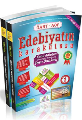 İnformal Yayınları ÖABT Edebiyatın Kara Kutusu Konu Anlatımlı Soru Bankası 2 Cilt
