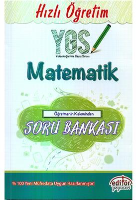 YGS Matematik Öğretmenin Kaleminden Soru Bankası Editör Yayınevi