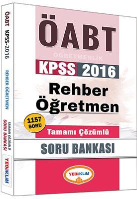 ÖABT Rehber  Tamamı Çözümlü Soru Bankası 2016 Yediiklim Yayınları