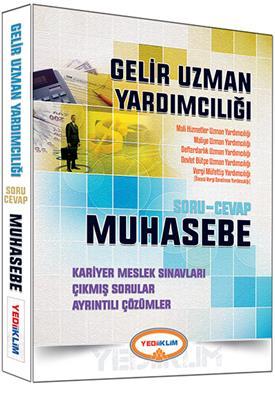 Gelir Uzman Yardımcılığı Muhasebe Soru Cevap Yediiklim Yayınları