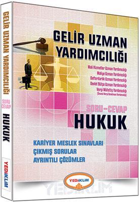 Gelir Uzman Yardımcılığı Hukuk Soru Cevap 2016 Yediiklim Yayınları