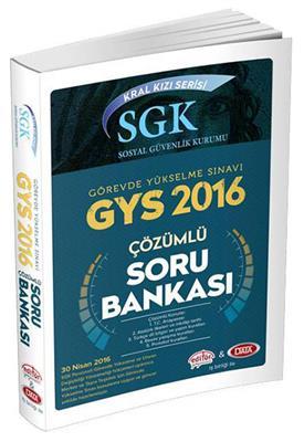 Data Yayınları SGK Kral Kızı Serisi Sosyal Güvenlik Kurumu Çözümlü Soru Bankası