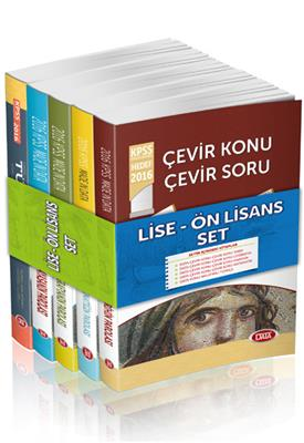 KPSS Lise Ön Lisans GY GK Çevir Konu Çevir Soru Modüler Set Data Yayınları