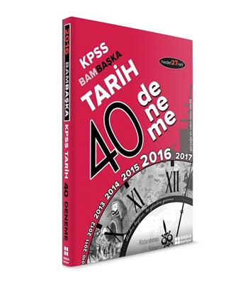 2016 KPSS BAMBASKA TARİH 44 deneme Başka Yayınları