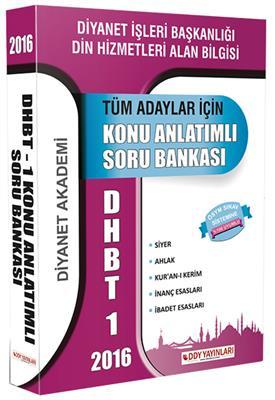DHBT 1 Tüm Adaylar İçin Konu Anlatımlı Soru Bankası DDY Yayınları