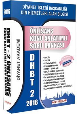 DHBT 2 Ön Lisans Konu Anlatımlı Soru Bankası DDY Yayınları