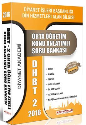 DHBT 2 Orta Öğretim Konu Anlatımlı Soru Bankası DDY Yayınları