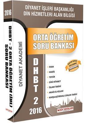 DHBT 2 Orta Ögretim Soru Bankası DDY Yayınları