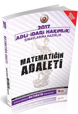 Adli İdari Hakimliği Matematiğin Adaleti Tamamı Çözümlü Soru Bankası Hür Yayınları