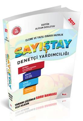Sayıştay Denetçi Yardımcılığı Tamamı Çözümlü Soru Bankası Hür Yayınları
