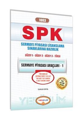 SPK 1003 Sermaye Piyasası Araçları 1 Yediiklim Yayınları