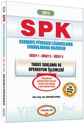 2016 SPK  Yediiklim Yayınları 1012 Takas Saklama ve Operasyon İşlemleri