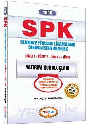 Yediiklim Yayınları 2016 SPK 1005 Yatırım Kuruluşları