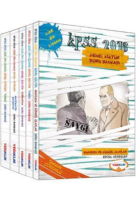 2016 KPSS  Yediiklim Yayınları Lise Ön Lisans Genel Kültür Genel Yetenek Modüler Soru Bankası Seti