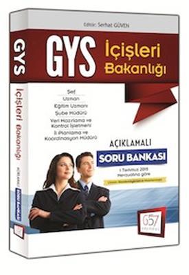 2015 GYS İçişleri Bakanlığı Açıklamalı Soru Bankası 657 Yayınları