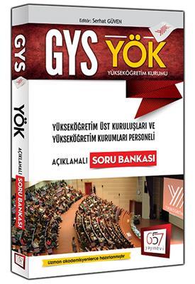 2016 GYS 657 YAYINLARI Yök Açıklamalı Soru Bankası