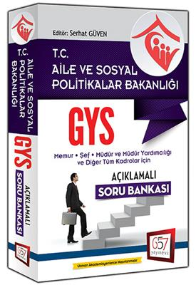 GYS Aile ve Sosyal Politikalar Soru Bankası 657 Yayınları
