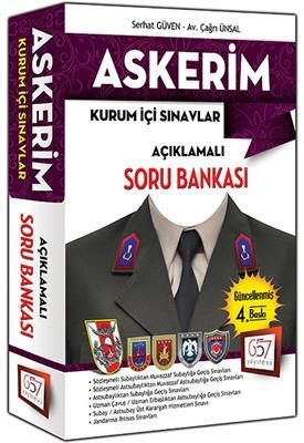 2015 Askerim Askeri Sınavlara Hazırlık Açıklamalı Soru Bankası 3.Baskı 657 Yayınları