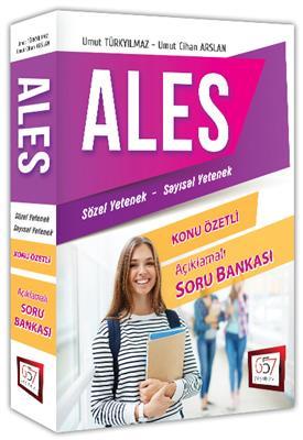 ALES Sözel Sayısal Yetenek Konu Özetli Açıklamalı Soru Bankası 657 Yayınları