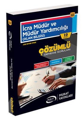 İcra Müdür ve Müdür Yardımcılığı Çözümlü 10 Deneme Sınavı Murat Yayınları