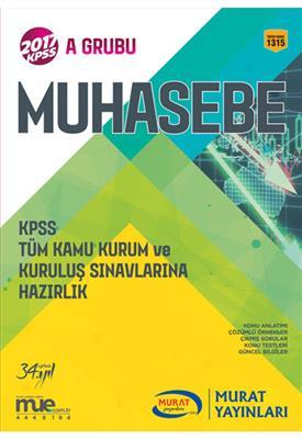 2017 KPSS Muhasebe Konu Anlatımlı Murat Yayınları
