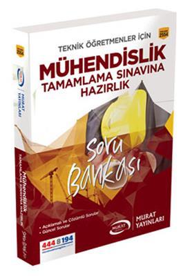 Mühendislik Tamamlama Hazırlık Soru Bankası Murat Yayınları