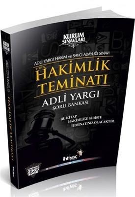 Adli Yargı Hakimlik Teminatı Çözümlü Soru Bankası İhtiyaç Yayınları