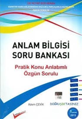 Anlam Bilgisi Soru Bankası Doğruşık Yayınları