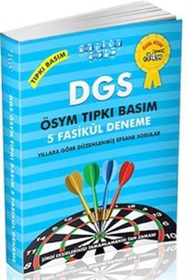 DGS ÖSYM Tıpkı Basım 5 Fasikül Deneme Akıllı Adam Yayınları 2015