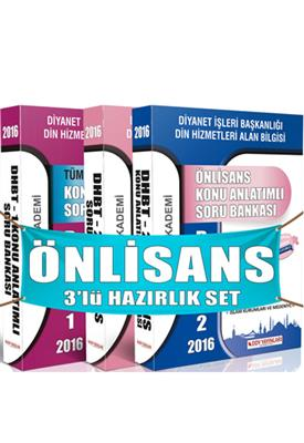 DHBT Önlisans İlahiyat Hazırlık Seti DDY Yayınları
