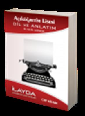 Dil ve Anlatım 5-6 Cep Kitabı İlayda Açık Lise Yayınları