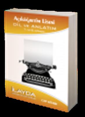 Dil ve Anlatım 7-8 Cep Kitabı İlayda Açık Lise Yayınları