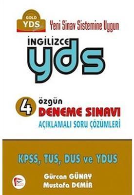 İngilizce YDS 4 Özgün Deneme Sınavı Pelikan Yayınları