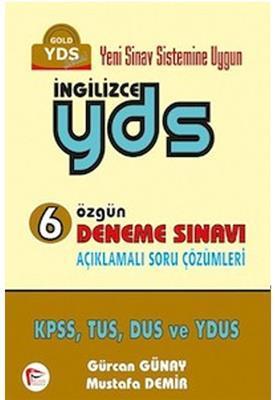 İngilizce YDS 6 Özgün Deneme Sınavı Pelikan Yayınları
