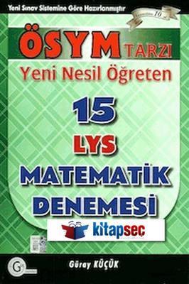 LYS 15 Matematik Denemesi Gür Yayınları