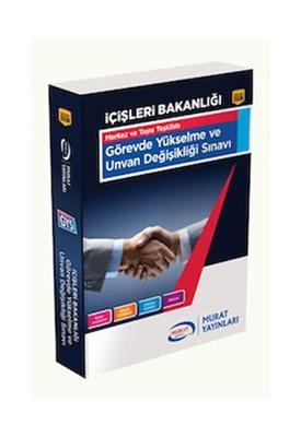 Murat Yayınları GYS İçişleri Bakanlığı Görevde Yükselme ve Unvan Değişikliği Sınavı