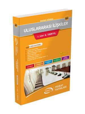 Murat açıköğretim Yayınları Bahar Dönemi Uluslararası İlişkileri 2 Sınıf 4. Yarıyıl