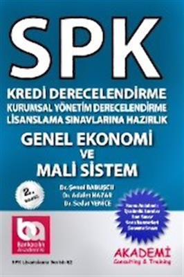 SPK Genel Ekonomi ve Mali Sistem Akademi Yayınları